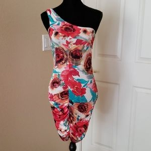 Arden B Floral Dress Size S